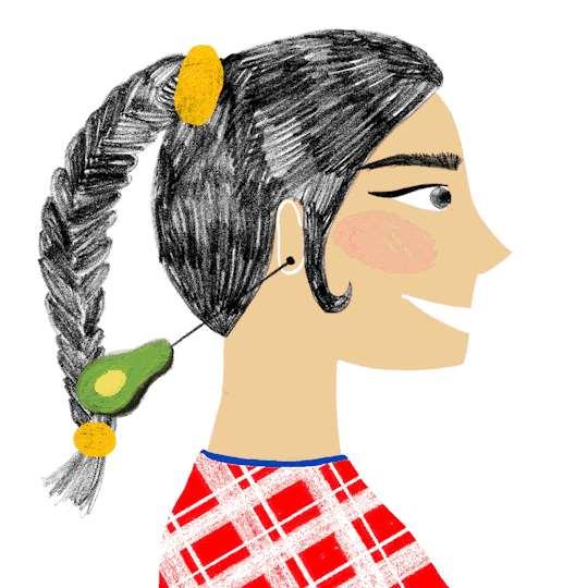 葡萄串发型怎么弄 比马尾辫要好看太多
