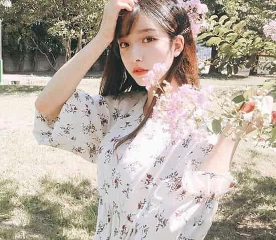 2018长发发型图片 学韩妞留长发变美