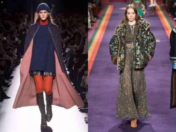 冬天大衣怎么搭配裙子 你用裙子配大衣活该你这么好看
