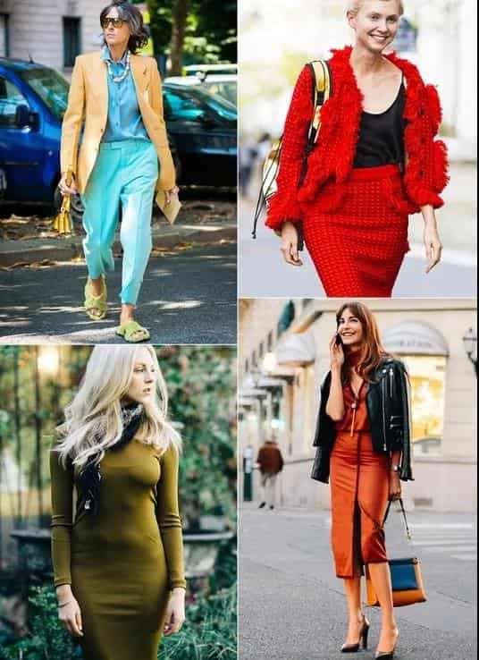 女生秋冬穿什么颜色的衣服好看 秋冬这些色搭配太显白太美了