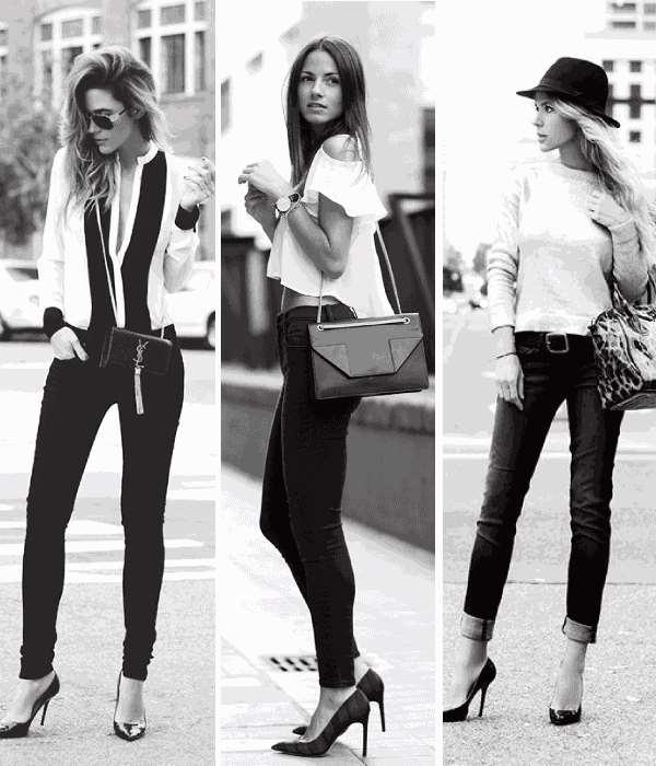 秋天小黑裤怎么搭配 初秋还有什么比它更百搭的