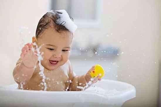 夏天宝宝洗澡注意事项