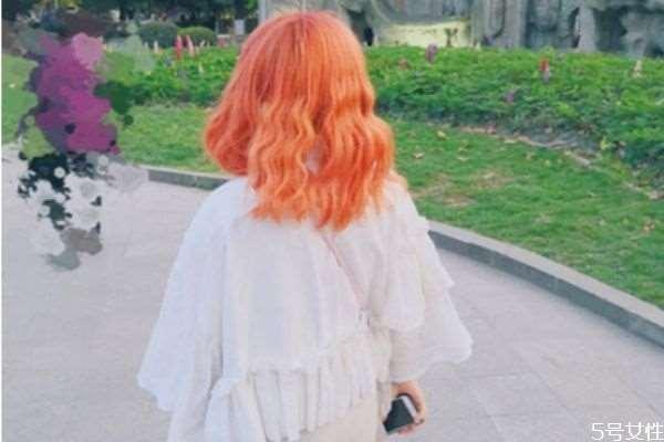 橙色头发有几种 橙色头发适合什么肤色