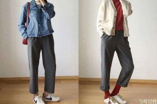 锥形裤和烟管裤的区别 烟管裤和萝卜裤的区别