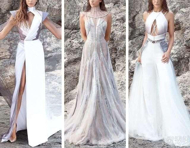 黎巴嫩Hassidriss高定礼服系列:灰烬主题3D渲染美好风采