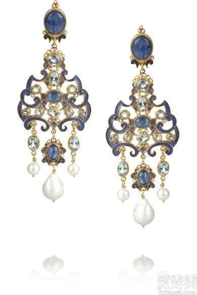 珠宝赏析:奥匈帝国阶段的老古董套服,与众不同的历史时间厚重感,古色古香空气