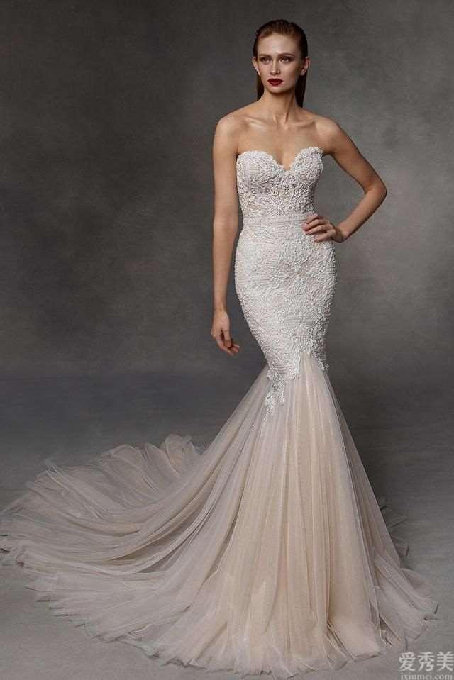 BadgleyMischka2020高定婚纱礼服,奢侈贵族气质设计风格,蕾丝绸缎震撼!