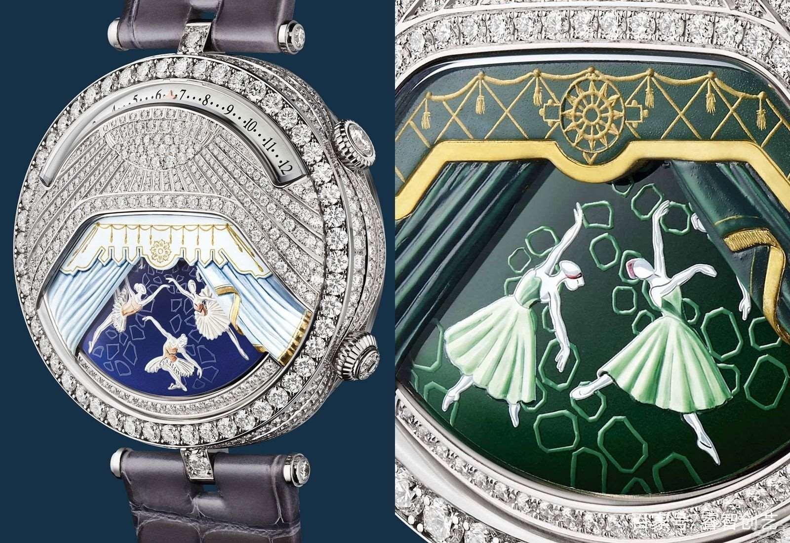 第一枚结合歌曲与动漫的腕表,芭蕾舞伶在手表表壳表带上舞出经典舞剧