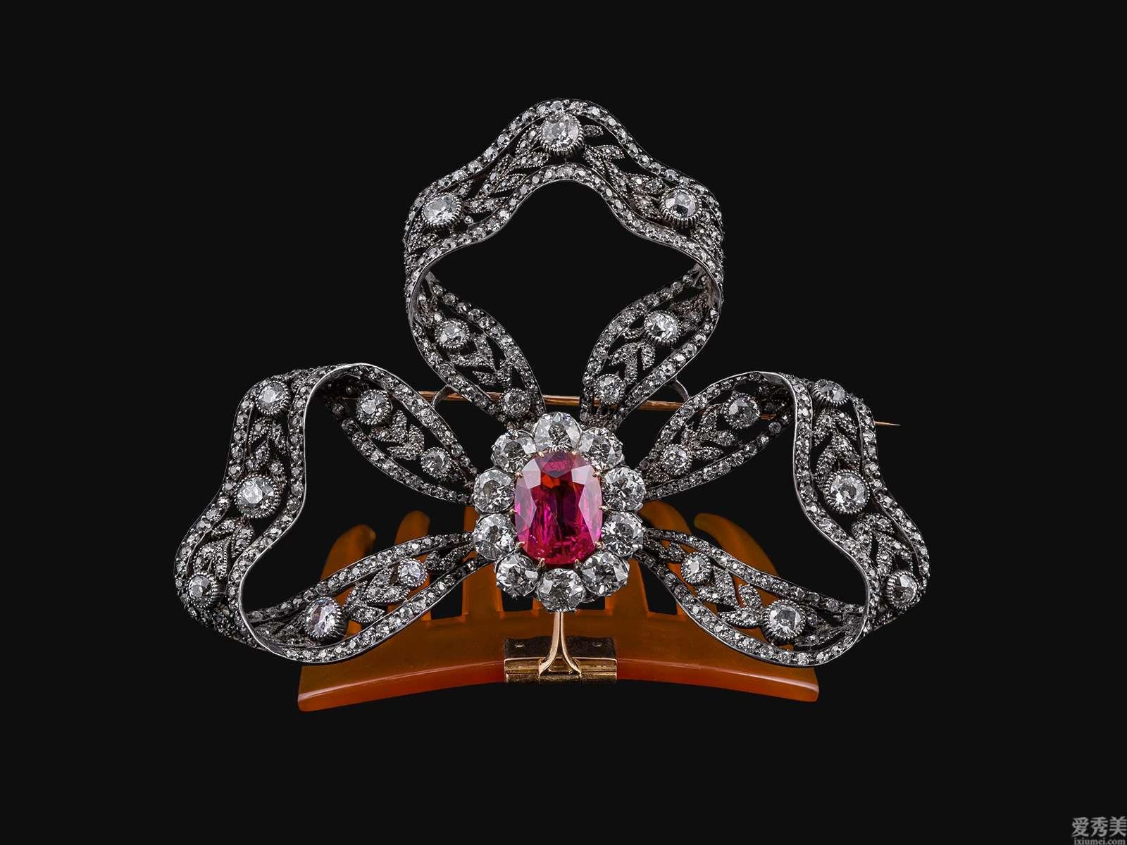 欧洲宫廷珠宝饰品产品系列之四:冠冕