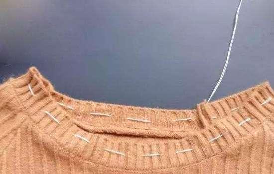 打底衫领口大了怎么缝 这几点都要注意