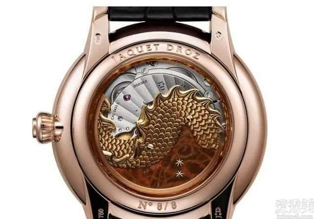 雅克德罗限定荷载腕表以戊辰「土龙」为设计概念手工制作制作金雕细致惟妙惟肖
