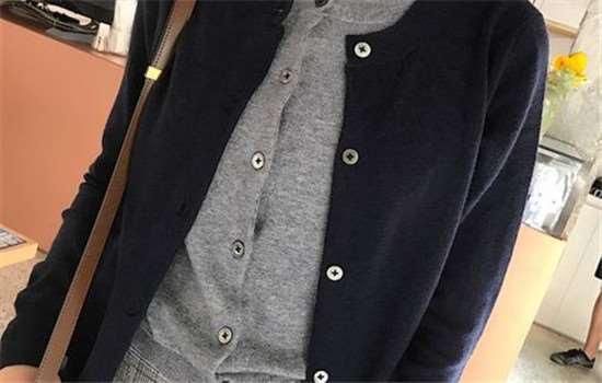 oversize的大衣怎么搭