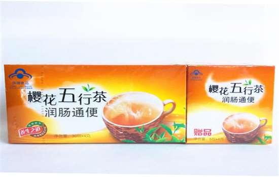 樱花五行茶有减肥效果吗
