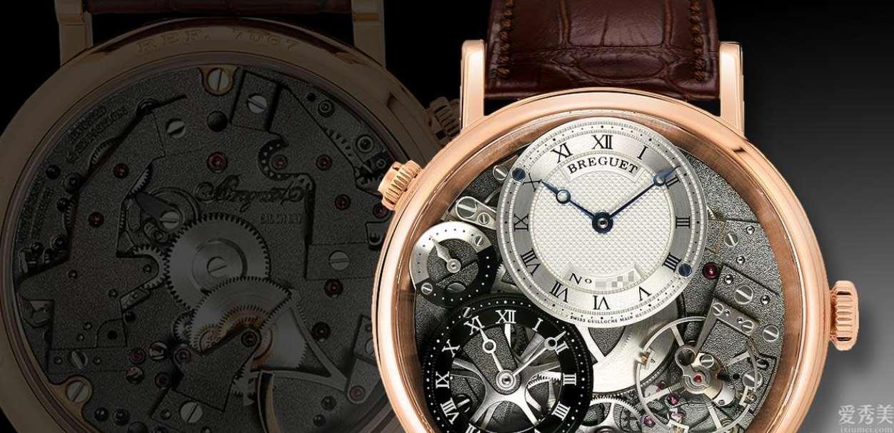 宝玑(Breguet)传统GMT手拉式上链40mm