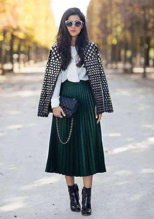 冬天穿裙子怎么保暖