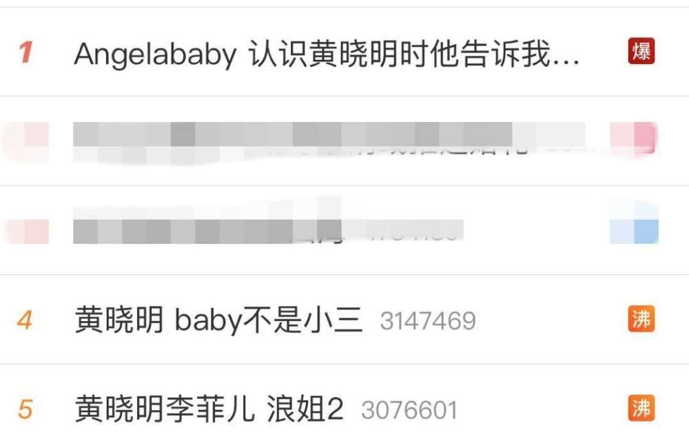 Baby夫妇发文各藏玄机,时隔五年黄晓明对李菲儿态度极大转变_明星新闻