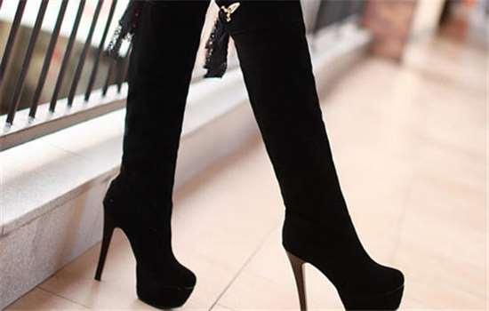 长靴脚踝处总是皱怎么办