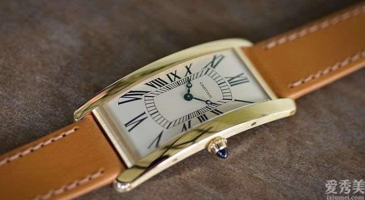 卡地亚发布TankCintrée限定腕表100周年版