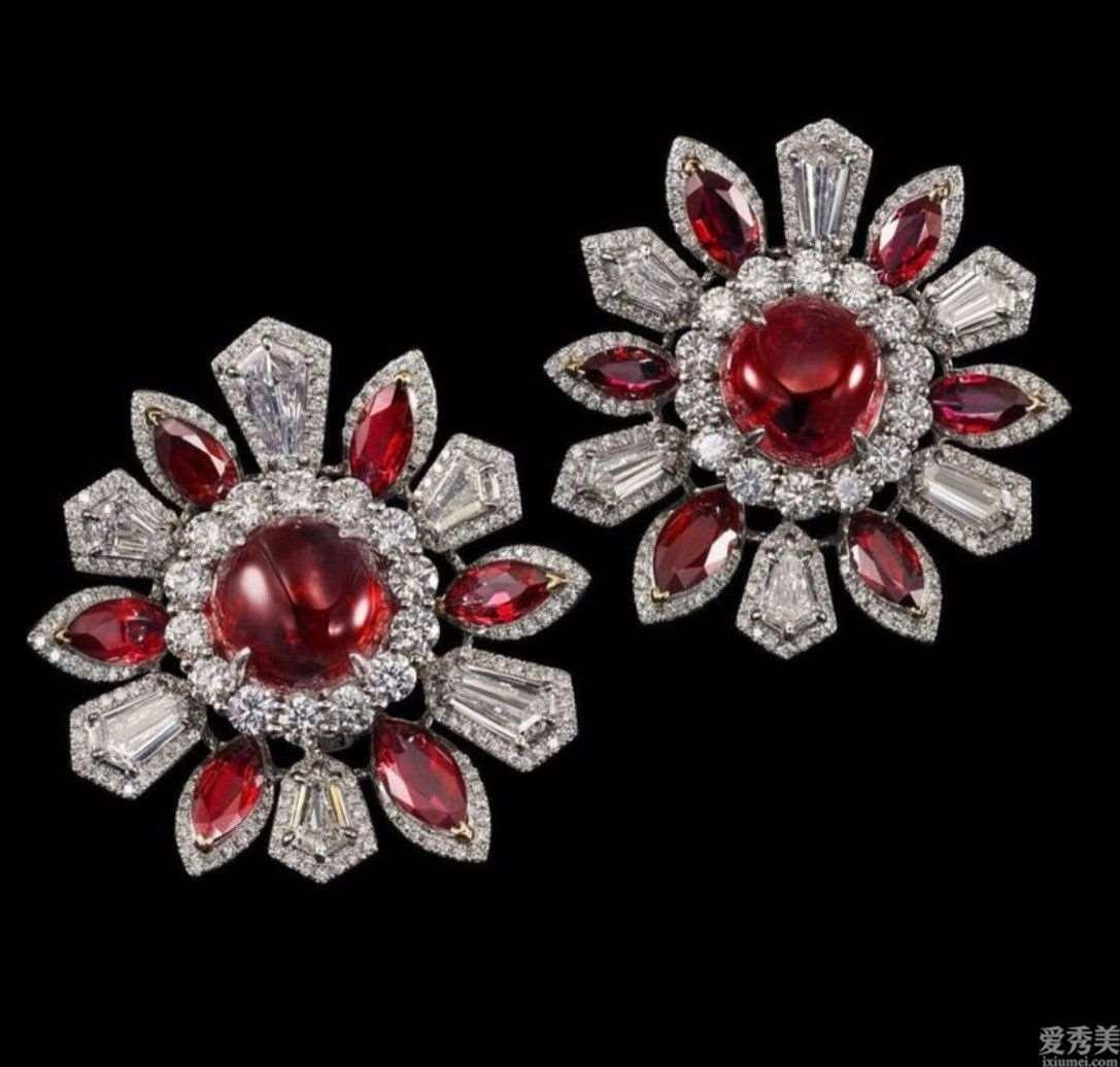 红色顶级珠宝赏析