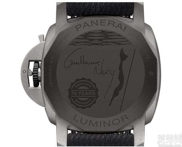 沛纳海手表发布全新升级LuminorMarina44mm限定手表纪尧姆·里衬版