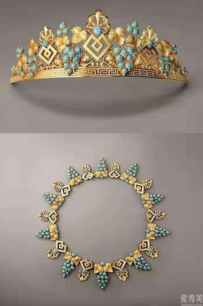 这种让你一见就难以忘怀的古典珠宝,来源于西方,却也美得令人感叹