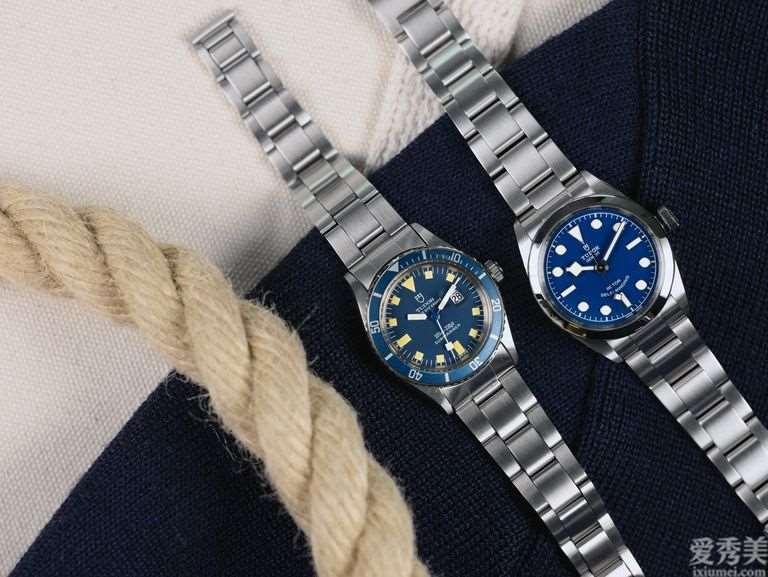 蓝色传统式——帝舵蓝色腕表