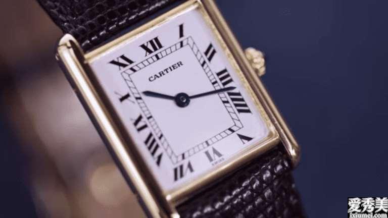 6款矩形奢华手表