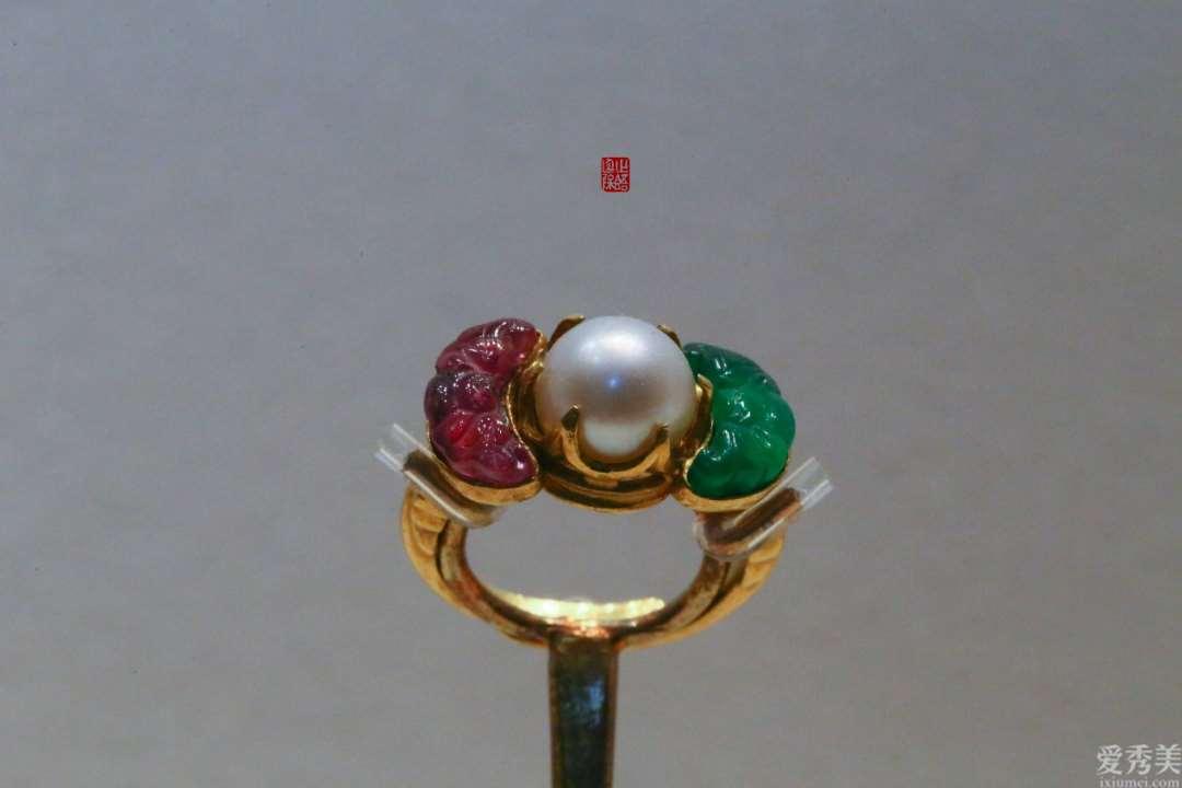 古时候的金镶珠宝戒指有多溜,从宝石到猫眼石,你想不到的统统有
