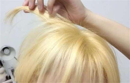 漂发和褪色区别