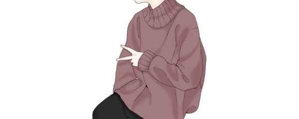 薄毛衣怎么穿 照着穿太好看了