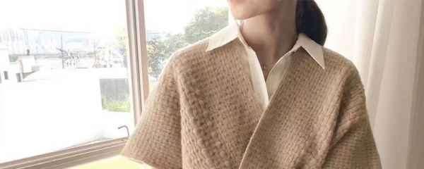 针织衫搭配女图片 搞定你所有春季穿搭
