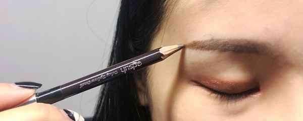 初学最简单的修眉方法 原来正确的修眉画眉法这么简单