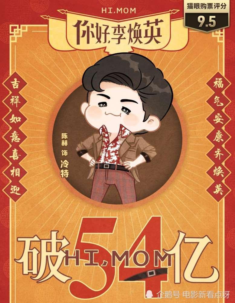 《你好,李焕英》再度延长上映,票房破54亿,能否超战狼2?_明星新闻
