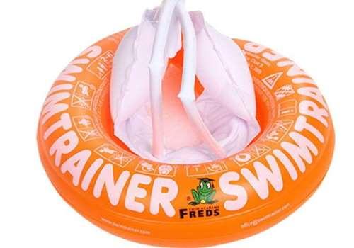 嗯哼用的背带游泳圈是什么牌子 同款freds游泳圈怎么充气