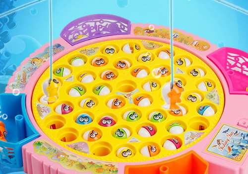 磁性钓鱼玩具适合几岁宝宝玩 宝宝适合玩哪些婴儿玩具