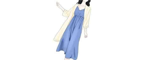 短款卫衣搭配裙子图片 时髦又有女人味