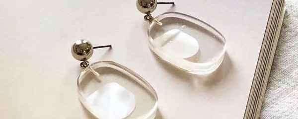 方脸适合戴的耳钉图片 你的脸型适合戴哪种耳环