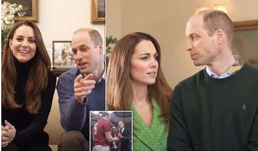 威廉与凯特开通油管,一天突破26万粉,25秒打招呼播放7位数_明星新闻