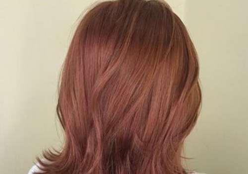 橙棕色是什么颜色 掉色后是什么颜色