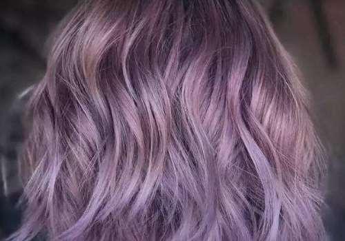 薰衣草紫发色显白吗 适合什么肤色