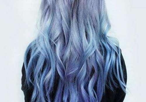 蓝色发色掉色快吗 掉色之后是什么颜色