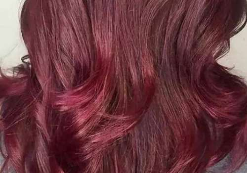 酒红色头发掉色后是什么颜色 染酒红色太红了怎么办