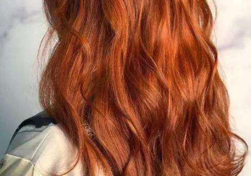 脏橘色发色适合素颜吗 适合上班族吗
