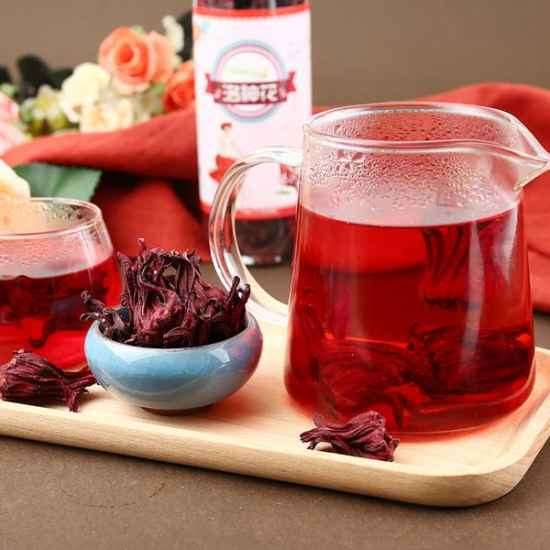 洛神花茶的副作用 洛神花茶不能和什么同吃