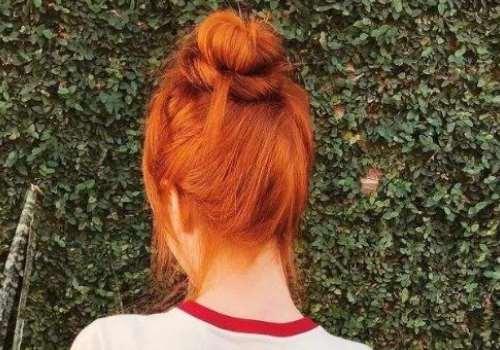 橘色头发显白吗 怎么调配方法