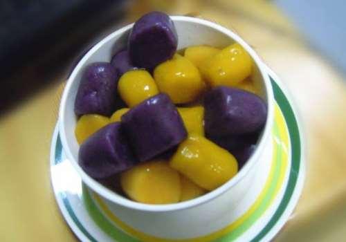 芋圆木薯粉比例 芋圆和什么一起煮好吃