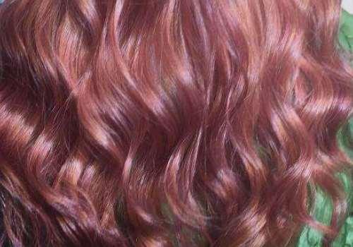 玫瑰金发色调配方法 掉色之后是什么颜色