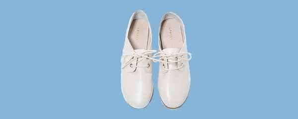 白色玛丽珍鞋图片 可盐可甜时髦炸了